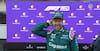 Vettel på podiet: 'Vi har haft det svært - det her betyder meget'