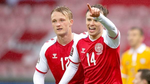 Danmark ydmyger Moldova med 8-0-sejr