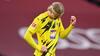 'Jeg er tom for ord' - norsk kommentator var flyvende efter Haalands mål mod Bayern München