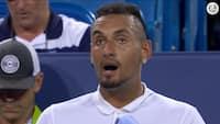 Rasende tennis-badboy: Her går Kyrgios AMOK på dommer under kamp