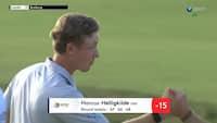 Dansk golfspiller er med i topstrid inden finalerunde - svensker brændte banen af