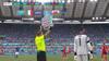 Helt overlegent: Her sender Mancini reservekeeper på banen for sjov