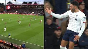 1-0 til Liverpool: Henderson sender Drillo-bold afsted - Ox prikker den i kassen