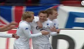 Dengang Silberbauer og Hoseth var flyvende i FCK's opvisning mod FC Midtjylland