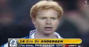 Retro: Dengang Erik Bo Andersen kunne få cola fra 50.000 Rangers-fans
