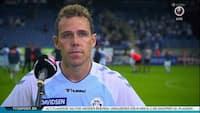 Anders K. efter SønderjyskE-sejr: 'Det er en kæmpe lettelse - Troen på overlevelse er stor'
