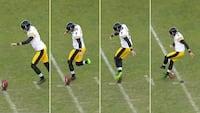 NFL-kicker forsøger en 'rabona': Det går HELT GALT!