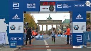Vanvittig bedrift: Etiopier sølle to sekunder fra verdensrekord - se den tåkrummende afslutning her