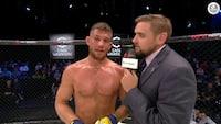 Glismann efter stor MMA-sejr: Vi må se, hvad det næste skridt skal være