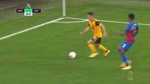 Wolves kravler op på en delt førsteplads i PL - se højdepunkterne fra deres 2-0-sejr over Crystal Palace lige her