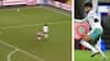 """""""Fantastisk improvisation"""" - dansker skaffer straffe i FA Cup-brag med fabelagtig ryg-pasning"""