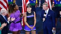 Teenager slår Serena Williams i US Open-finalen