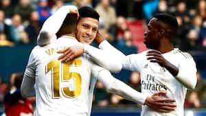Real Madrid lægger pres på Barcelona med udesejr
