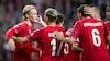 Storsejr i Parken: Dolberg dobbelt målscorer i dansk nedsabling af Georgien