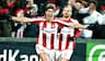 Kanon-mål i Aalborg: Van Weert flugter AaB på 1-0