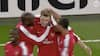 Danish dynamite: Da Bendtner scorede hattrick i Champions League for Arsenal