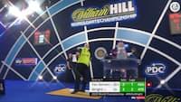 Tæt VM-finale: Wright bringer sig foran mod van Gerwen