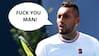 'Fuck you man': Dommer straffer Nick Kyrgios for udbrud mod tilskuer - så nedsmelter australier for åben skærm