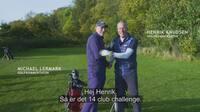 14 Club Challenge: Golfkommentator går fra himmel til helvede: Det var så dagens dårligste