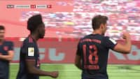Leon Goretzka banker Bayern på 2-1 efter flot opspil