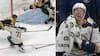 Arenaen går totalt amok, da finsk NHL-målmand leverer mirakel med stokhandsken - er det årets vildeste redning?