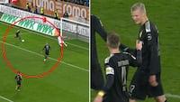 Endnu en kasse til Håland: Uselviske Hazard spiller ham fuldstændig fri til nem 4-3-scoring