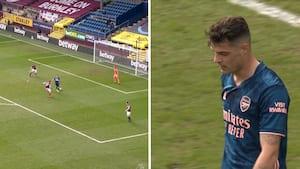 Sæsonens mest bizarre mål: Burnley-spids udligner med hoften