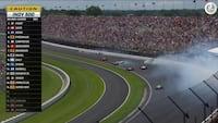 'NEJ, NEJ, NEJ!' - Kæmpe crash i afslutningen på Indy 500