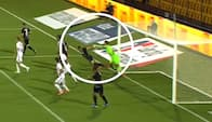 Drama i 91. minut: FCN-keeper nedlægger Tverskov – Bliver OB snydt her?