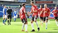 Vanvittigt drama i Brighton: Se alle højdepunkter fra United-sejren her