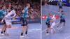 'Så er det svært at spille håndbold': Flensburg-dansker flår trøjen af modstander