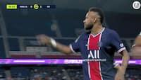 'Han kaldte mig forbandet abekat' - se Neymar i eksplosive scener fra Ligue 1-drama i aftes