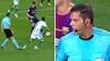 Komisk! Dommer fælder Betis-spiller under Barcelona-kontra