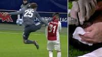 'Han taber FULDSTÆNDIG kasketten!': Se Müllers vanvidsstempling i hovedet på Ajax-profil