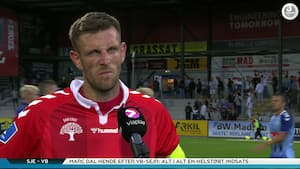 Sent nederlag frustrerer Vejle-profil: 'Vi var bedst'