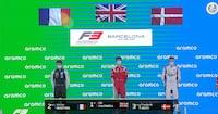 Vesti i champagne-jubel på podiet efter tredjeplads - Se mere Formel 3 klokken 12 på Viaplay & TV3 SPORT