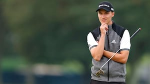 Dansk golfkomet får tung start på sin første major