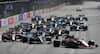 Leclerc holder føringen - Pérez snyder Gasly: Se starten fra Aserbajdsjans GP her