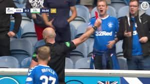 Frustreret Rangers-spiller slagter modspiller: 'Det er lodret idioti!'