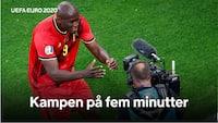 Lukaku hylder holdkammeraten Eriksen i Belgien-sejr