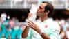 Overlegen Roger Federer kører Isner over på en time og to minutter - tager titel nummer 101
