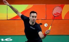 Badmintonlandsholdet siger farvel til Joachim Fischer