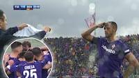 Se målhelt hylde Astori: Fiorentina vinder første kamp efter tragisk dødsfald