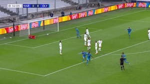 Pletskud fra Camara - Olympiakos på 1-0 i Marseille