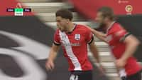 Che Adams sparker Southampton i front mod Joachim Andersen og Fulham - se målet her
