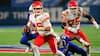 Én hånd og så er kampen afgjort: Se den forrygende afgørelse på Chiefs-Bills her