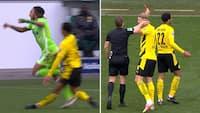 Drama i Bundesligaen: 17-årig Dortmund-komet udvist