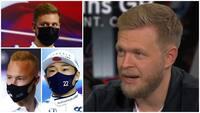 Her er den helt store forskel: Hør Kevin fortælle om udfordringerne ved at være rookie i F1