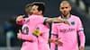 Highlights: Dembélé og Messi sørgede for Barca-sejr, da Braithwaite fik CL-debut