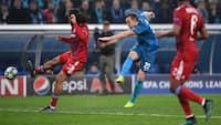 Se highlights: Zenit gør livet surt for danskerklub i Champions League